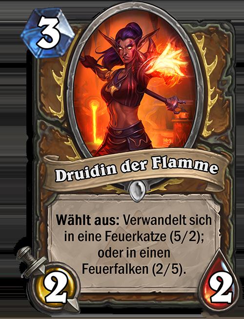 Druidin der Flamme