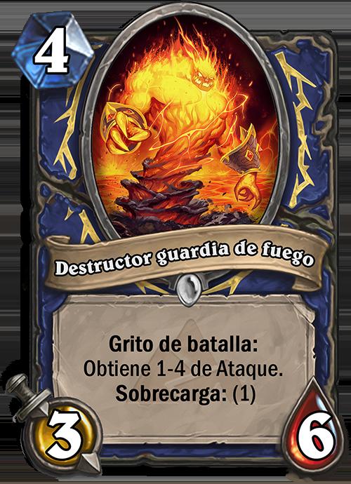 Destructor guardia de fuego