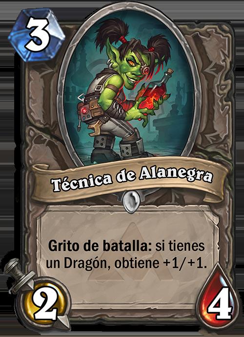 Técnica de Alanegra