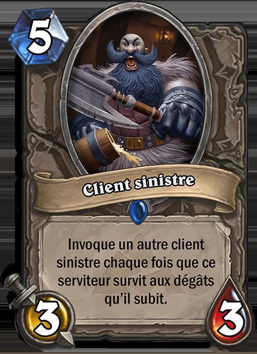 Client sinistre