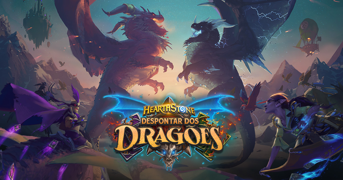 Resultado de imagem para hearthstone descent of dragons