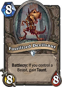 Fossilized Devilsaur