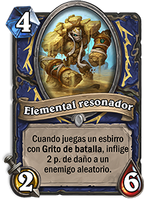 Elemental resonador