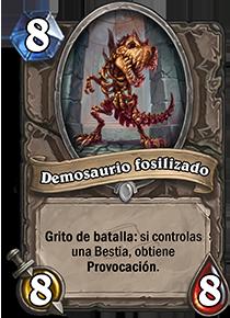 Demosaurio fosilizado