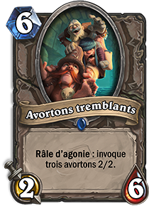Avortons tremblants