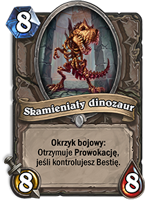 Skamieniały dinozaur