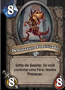Demossauro Fossilizado