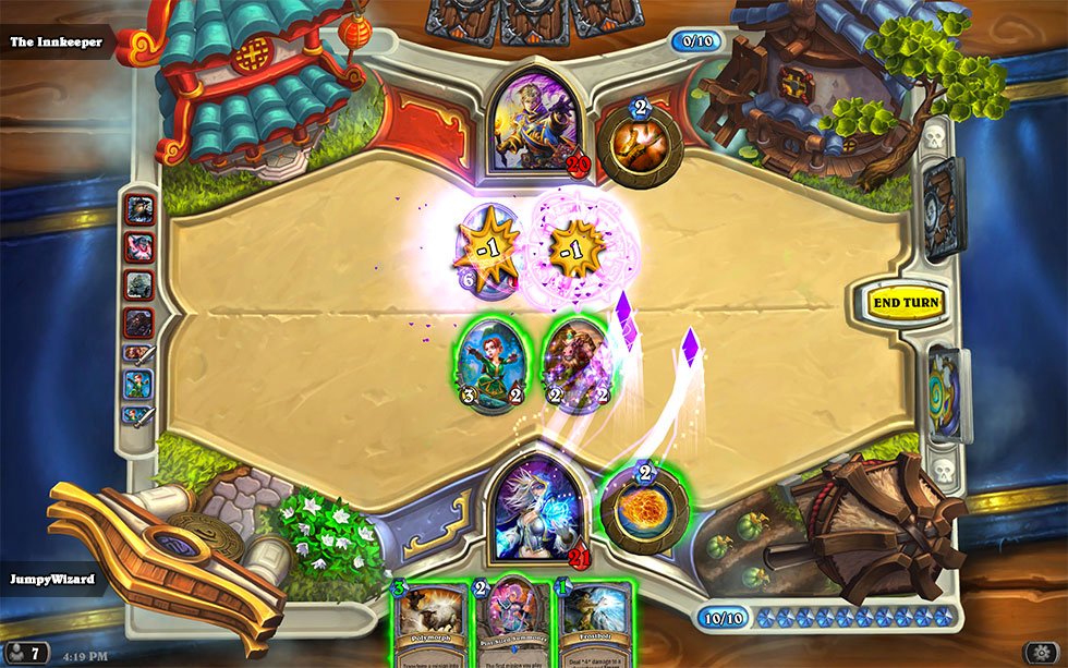 How does arena matchmaking work hearthstone