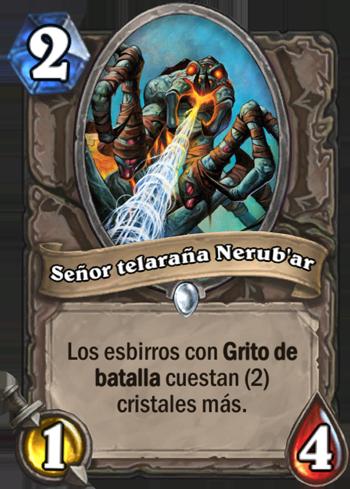 Señor telaraña Nerub'ar