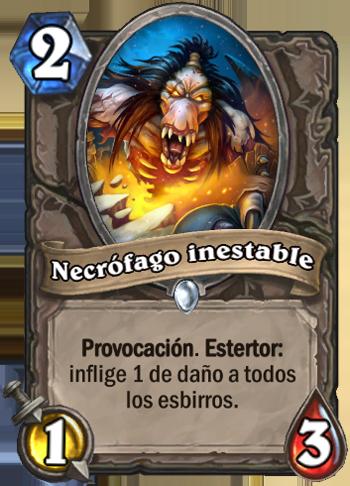 Necrófago inestable
