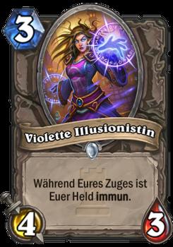 Violette Illusionistin