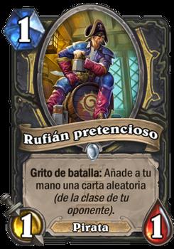 Rufián pretencioso