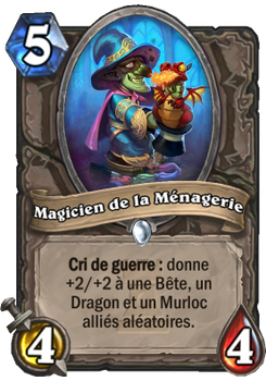 Magicien de la Ménagerie