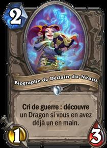 Biographe de Dédain-du-Néant