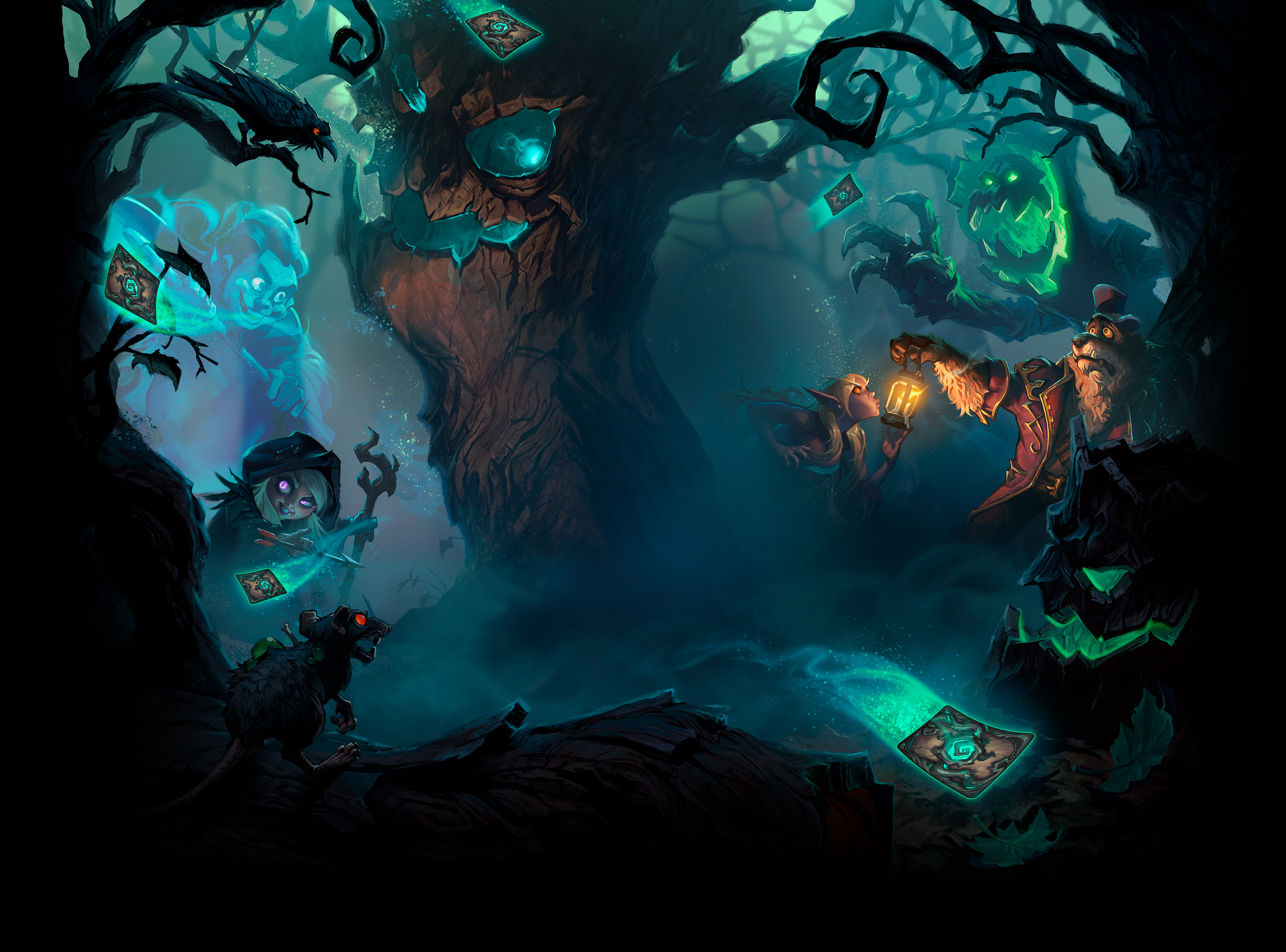 Hearthstone channels found-footage horror and announces the newest expansion -- The Witchwood! class=